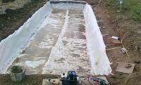 Construcción de humedal SSP